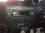 Alpine Head Unit - Land Rover - Defender - Van Conversions - WITNEY - OXFORDSHIRE